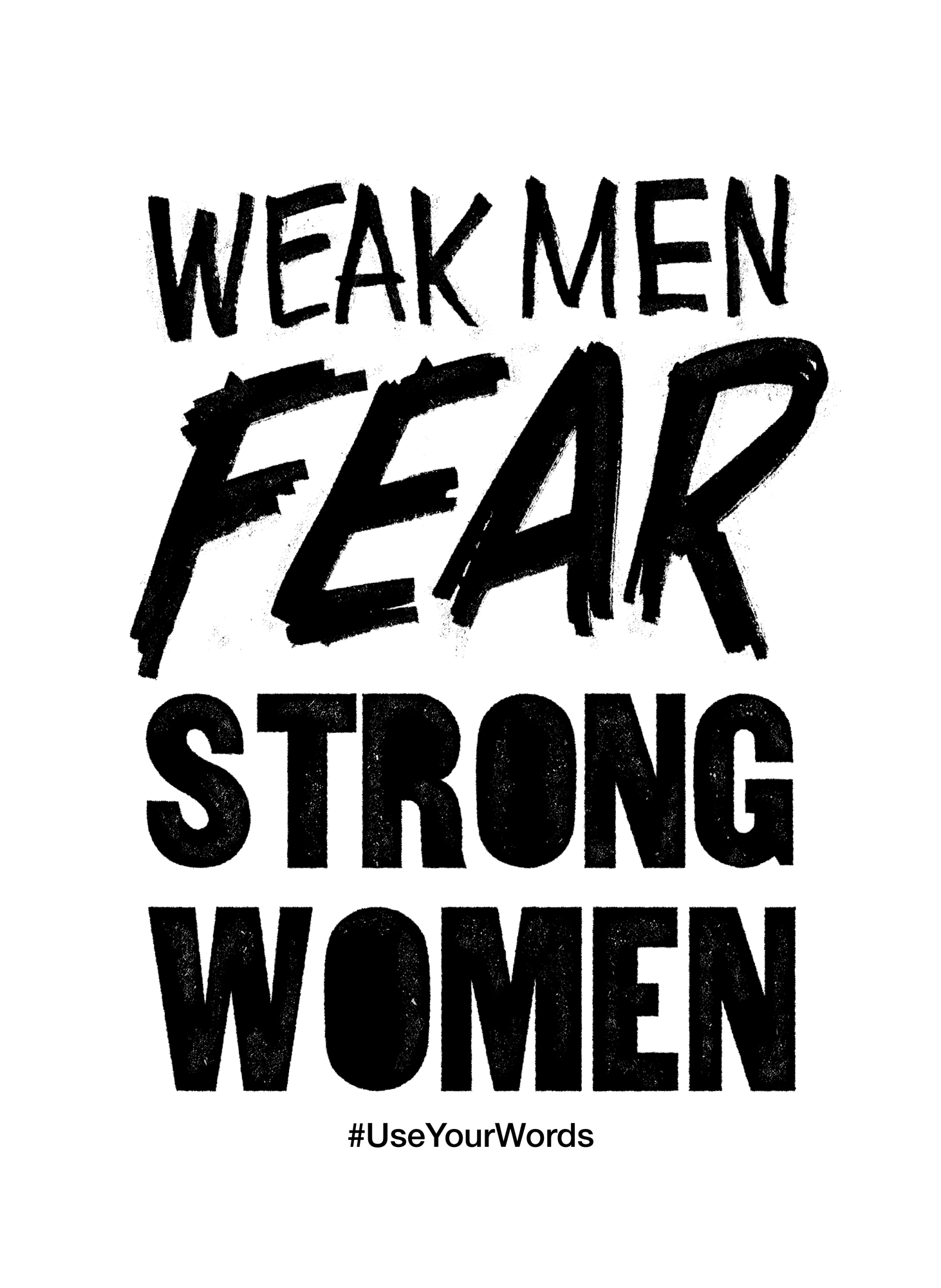from weak to strong